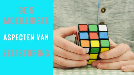 rubiks kubus, 5 moeilijkste aspecten van zelfsturing